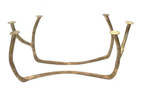 Tischbein aus Bronze - Bronze Branch - (2er Set) - front view1
