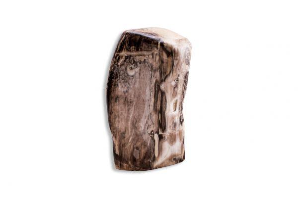 Dekostein - Skulptur aus versteinertem Holz mit Edeloptik - PW13-6 - front view