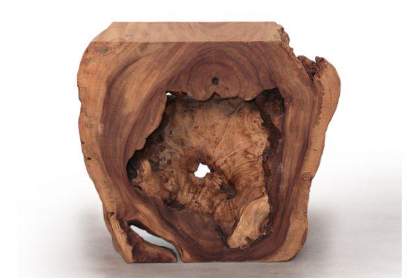 Massivholz Konsolentisch oder Beistelltisch - front view