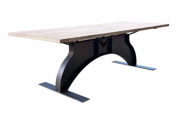 Tischgestell im Industriedesign aus Stahl - SOW 008 - front view