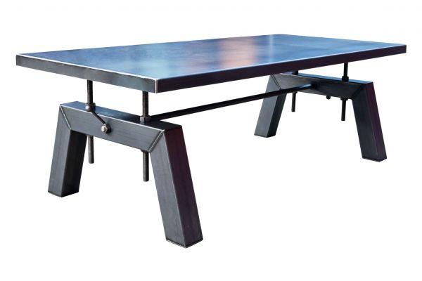 Tischgestell im Industriedesign aus Stahl - SOW 001 - front view