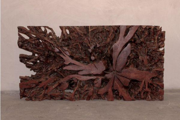 Lychee-Wurzelkonsolentisch - Medas-Reef - front view1