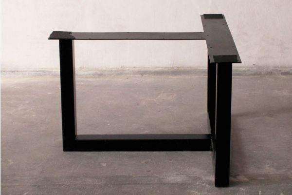 Tischuntergestell-T-Form-Blankstahl Ausstellungsstück - side view1