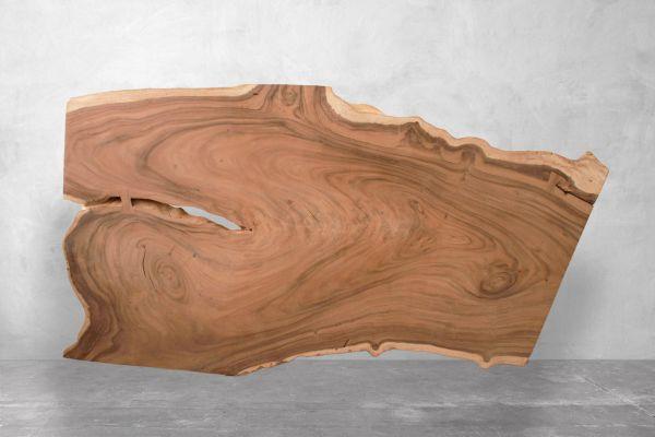Tischplatte-Baumstamm-mit-Naturmaserung-Free-Billie-Laenge-267-cm - front view1