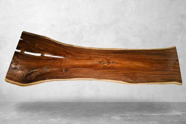 Tischplatte aus einem Baumstamm - Konferenztisch XXL - Länge 474 cm - front view1
