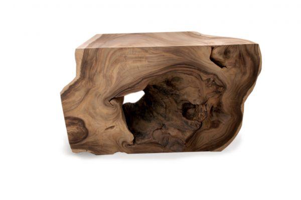 Massivholz Konsolen-tisch oder Beistelltisch - front view