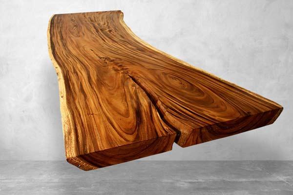 Baumstamm Tischplatten
